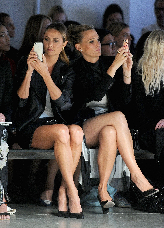 Jessica Pels Britney Spears Crossed Legs Stacy Keibler Helmut Lang