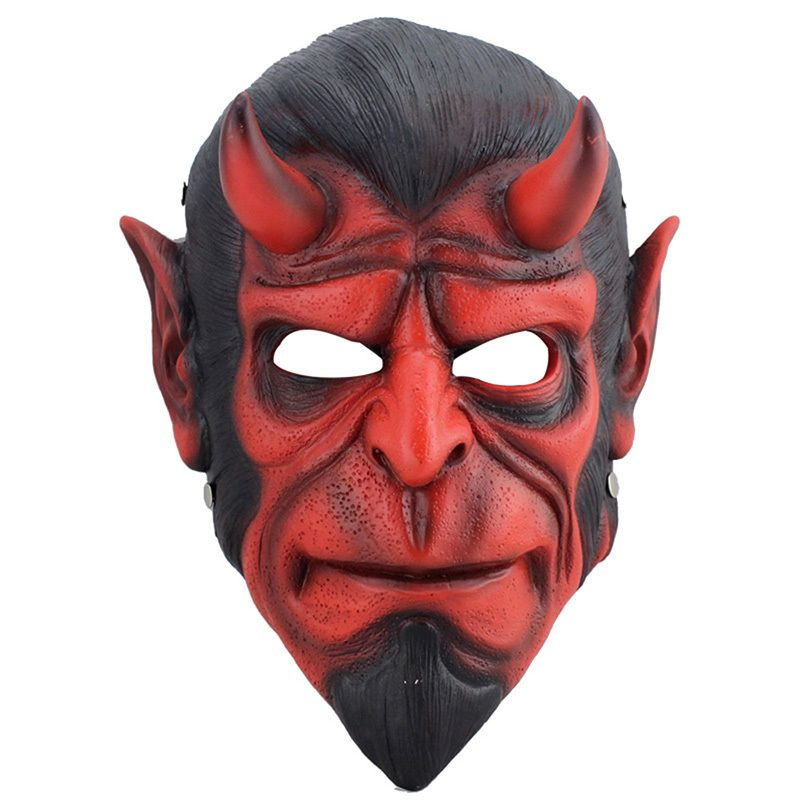 Resin Death Resin Mask Animal Hellboy Scary Mask MascaraTerror - scary halloween props