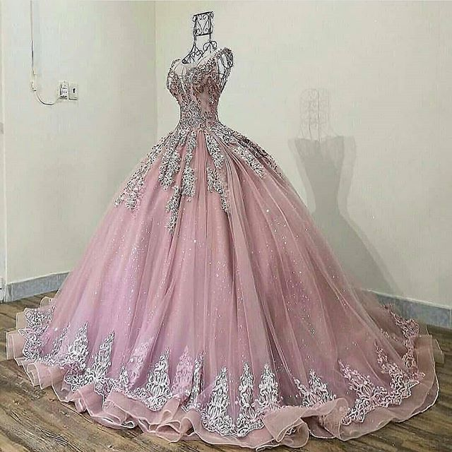 Abiti Da Cerimonia Quinceanera.Magbridal Eye Catching Tulle Jewel Neckline Ball Gown Quinceanera