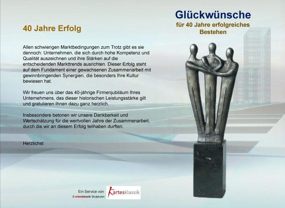 40 Jahriges Firmenjubilaum Gluckwunschtexte Spruche Und Vorlagen Gluckwunsche Zum Firmenjubilaum Spruche Zum Firmenjubilaum Jubilaumsspruche