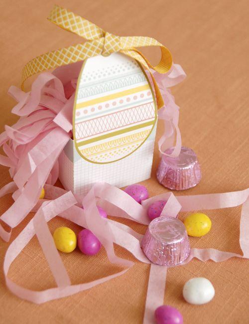 Printable Egg Easter Box