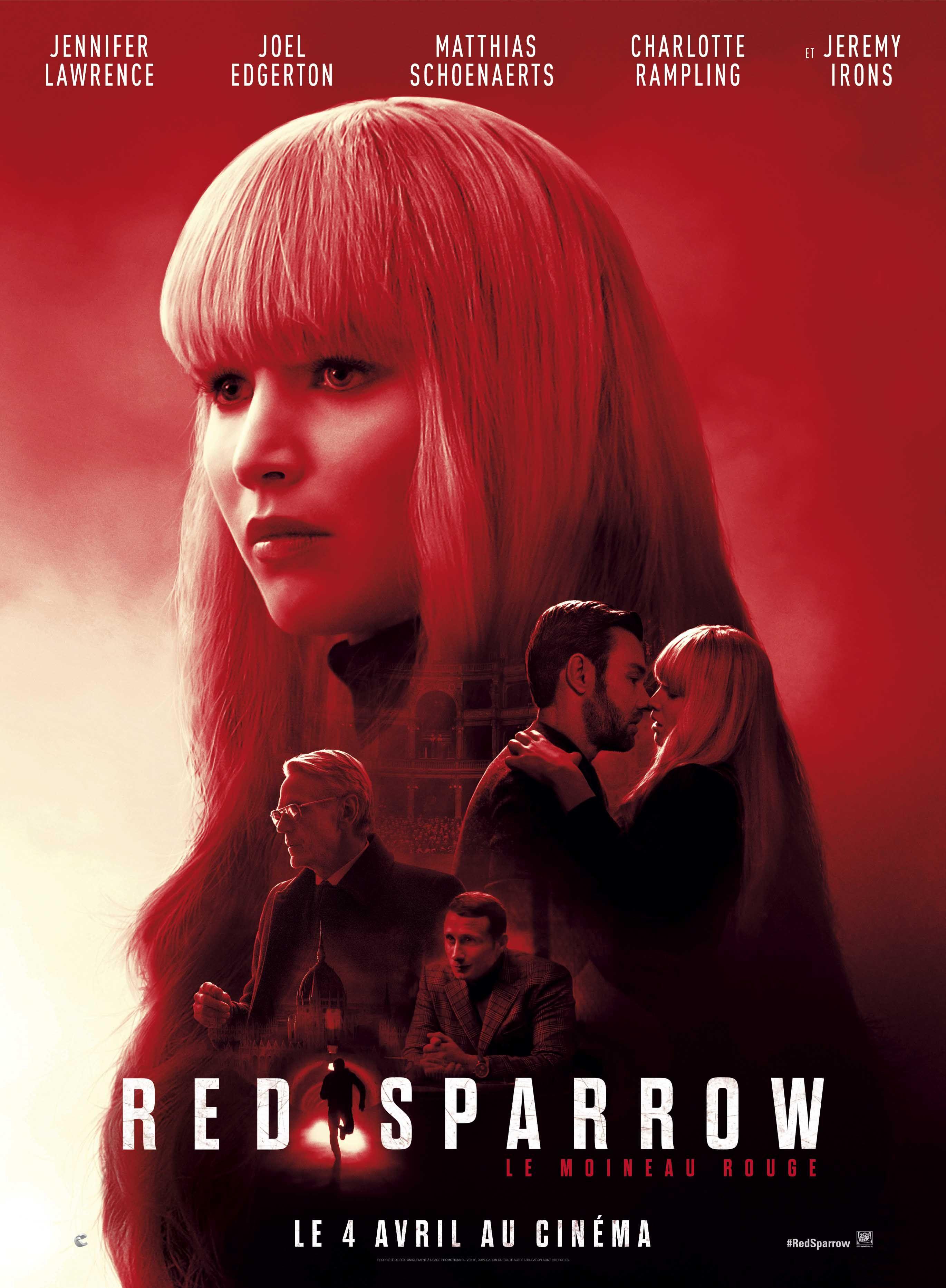 постер фильма красный воробей постеры фильмов воробьи