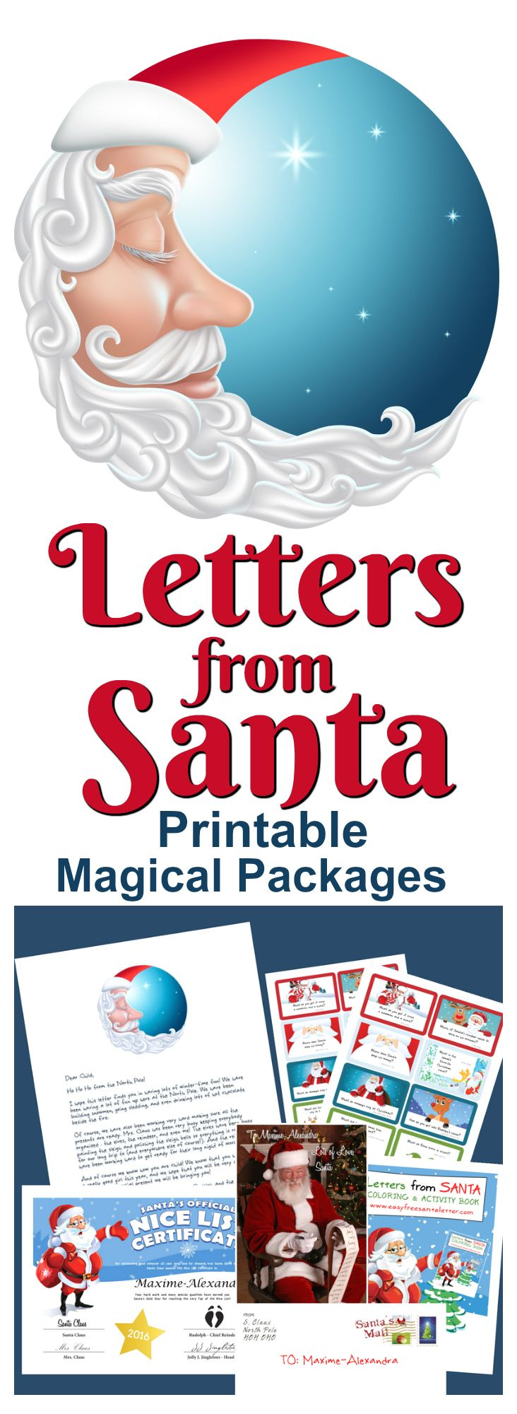 Free Letters From Santa We Forgot To Tell You  Printable Letters