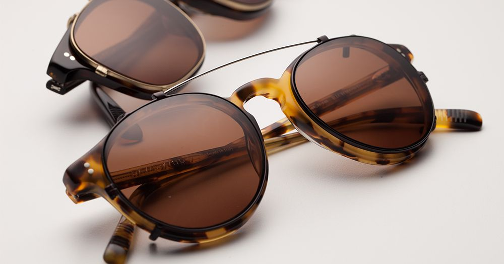 bbcbfd267c David kind custom sun clips - our Richmond optical frame in Tokyo Tortoise!