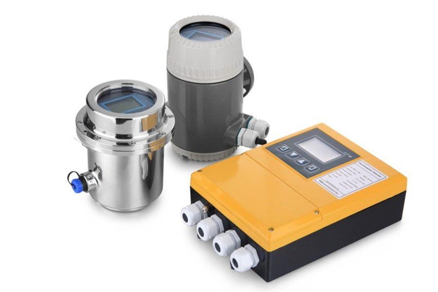 magnetic flow meter principle