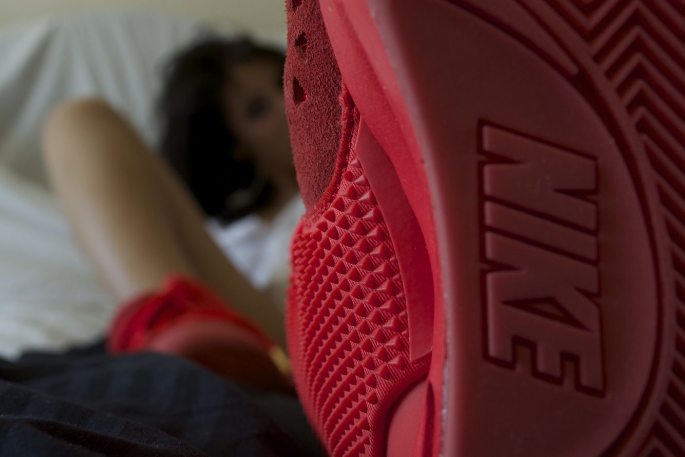Yeezy Red Octobers theVIPeffect.squarespace.com