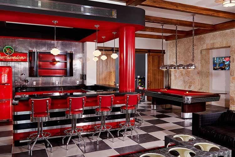 Ideas para decorar una sala de billar en casa | Sala de juegos ...