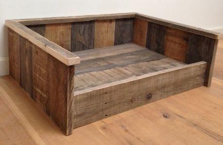 Aeec385cc485b3ab883fc96120a97e66 Jpg 460 299 Pixels Wood Dog Bed