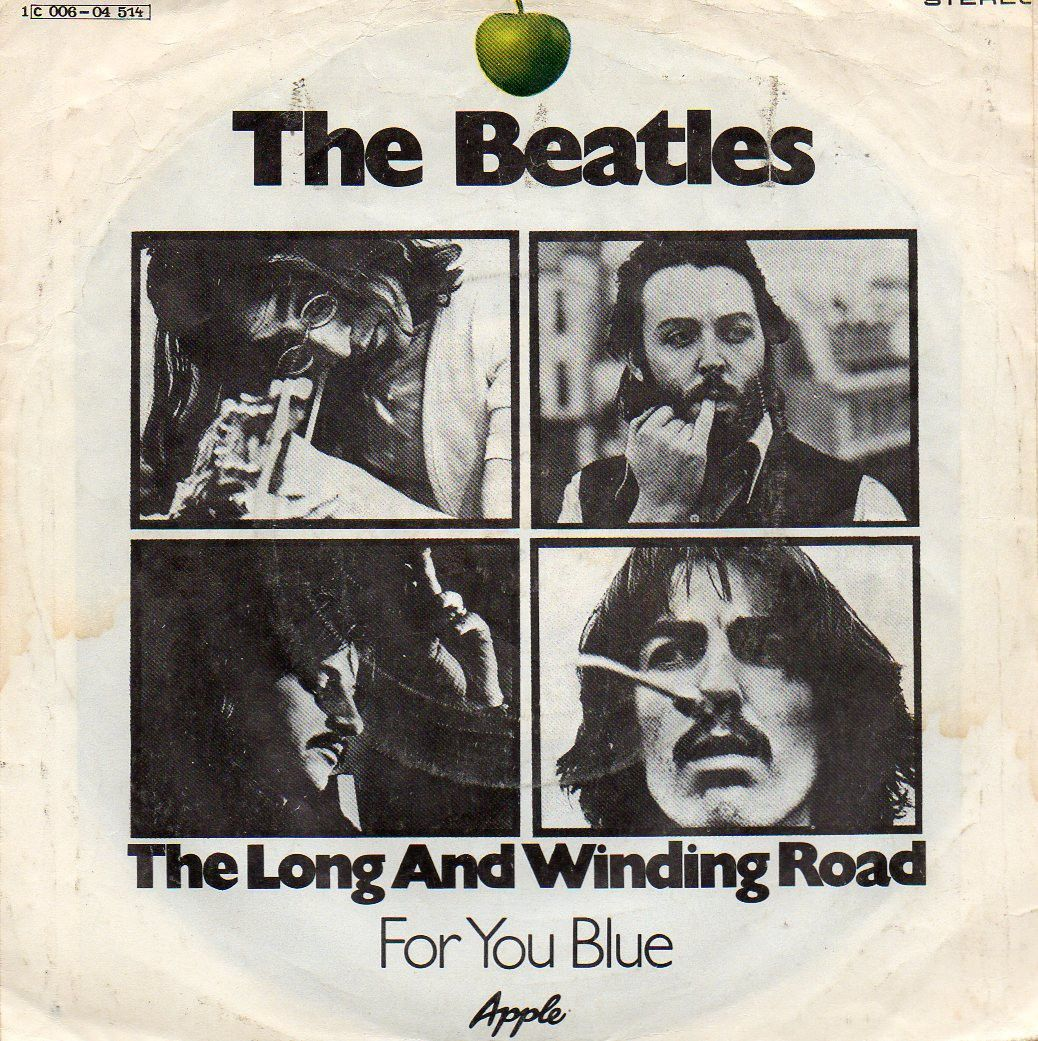 BEATLES 'THE LONG AND WINDING ROAD' GERMAN/DENMARK PS 45 (With ...