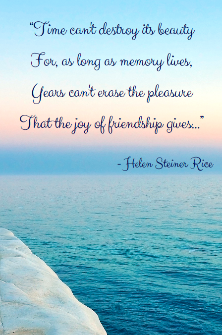 Memorial Poems For Friends 2