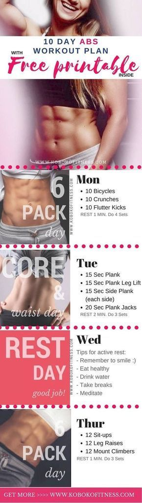 Photo of Get this ab workout plan to help get rid of belly fat and get toned abs at home….