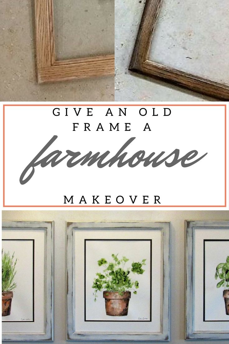 How To Weather A Picture Frame Laker Hardware Flooring And Interior Design Diy Decor Crafts Picture Frames Farmhouse Frames