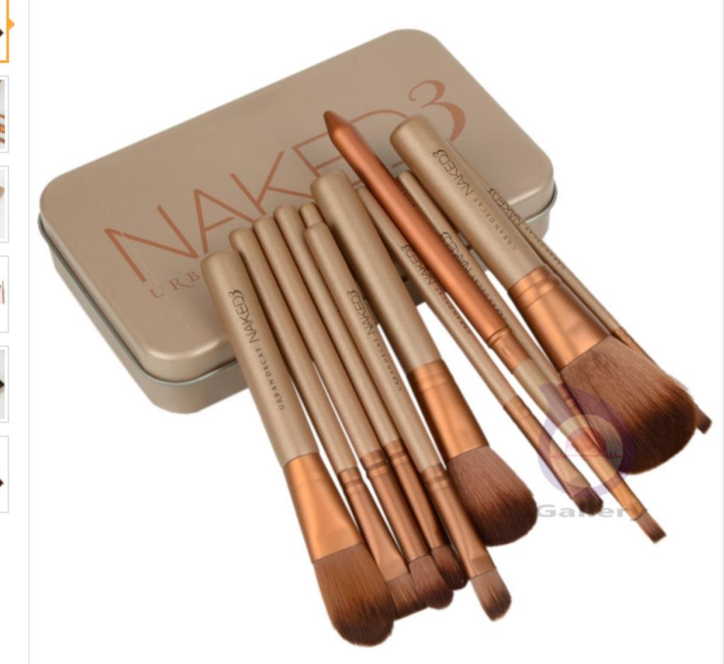 Item TypeMakeup Brush is_customizedYes Brand NameNAKE 3