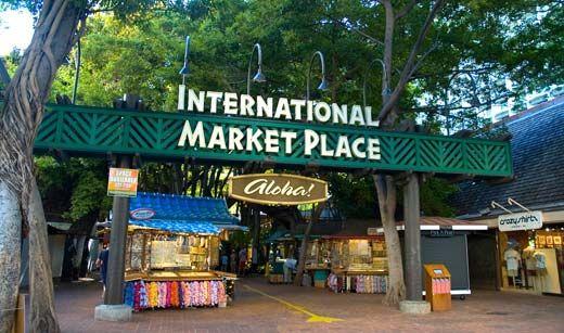 International Market Place Oahu Places Hawaii Homes Oahu