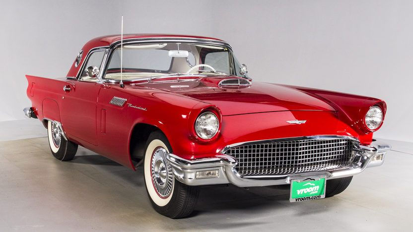 1957 Ford Thunderbird 292 CI Two Tops Presented As Lot At Houston TX 2016
