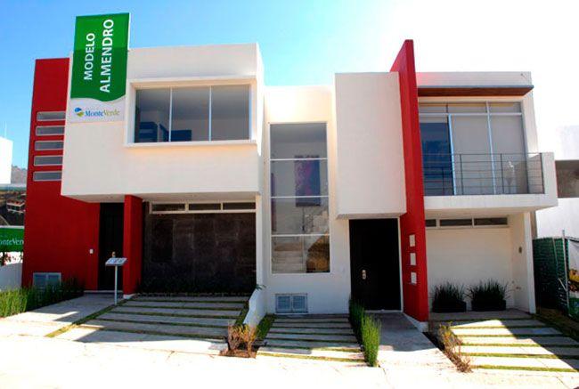 fachadas de casas con dos niveles casas pinterest