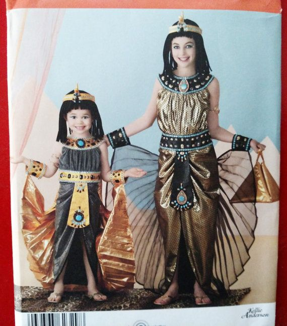 2012 Simplicity Pattern 2329-Girls' Egyptian by PaperWardrobesEtc