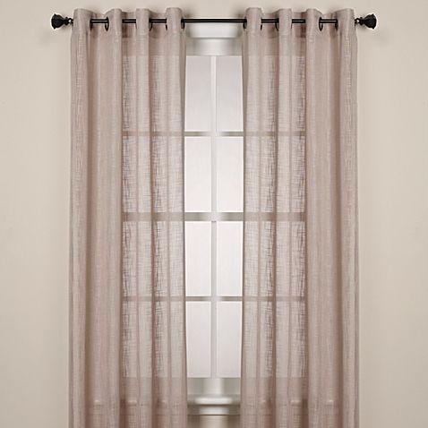 Alton Solid Grommet Window Curtain Panels Panel Curtains