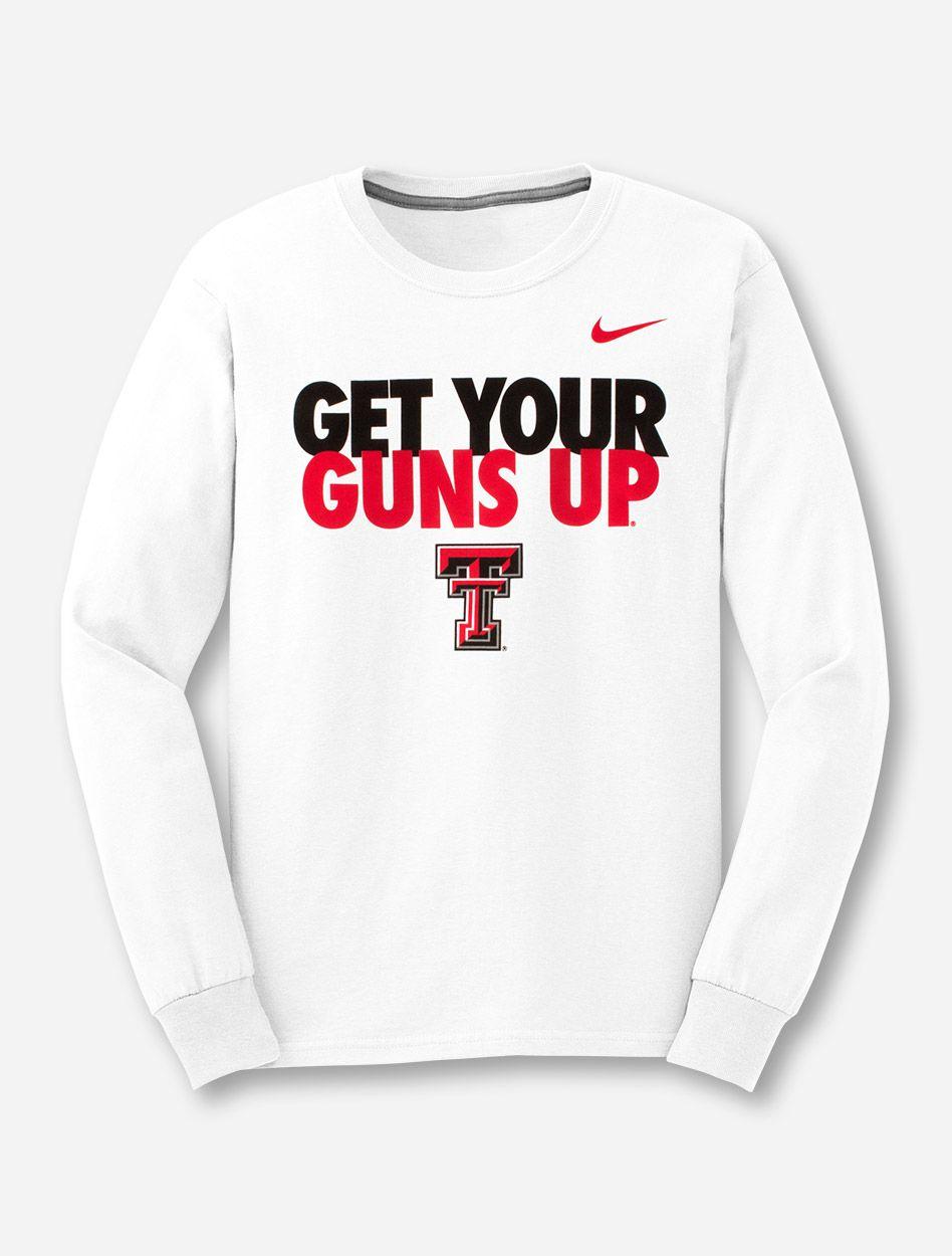 Texas Tech Nike Get Your Guns Up Long Sleeve Texas Tech Shirts Texas Tech Clothes Texas Tech [ 1250 x 948 Pixel ]
