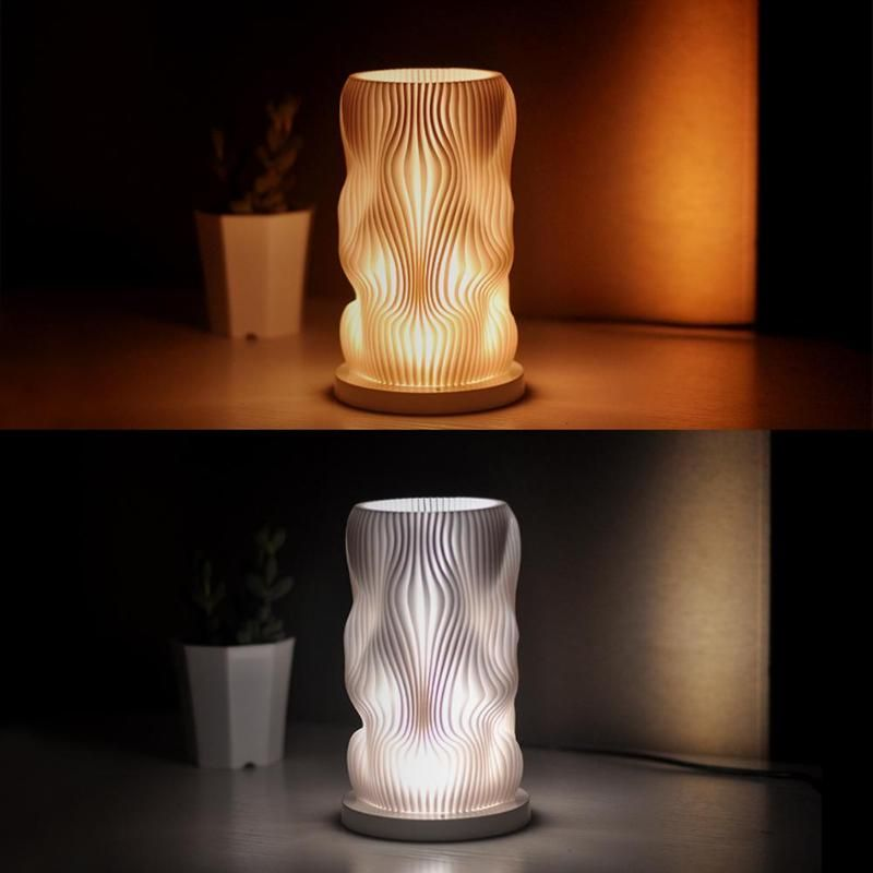 Engraved Cylinder 3d Night Light In 2020 3d Night Light Night Light Led Night Light