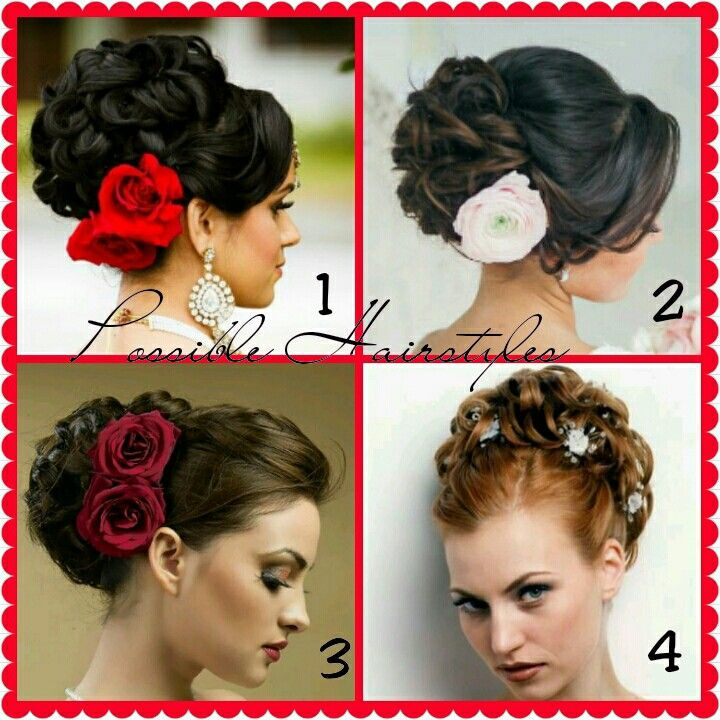 Spanish Style Updo Hairstyle Possibilities My Wedding Pinterest