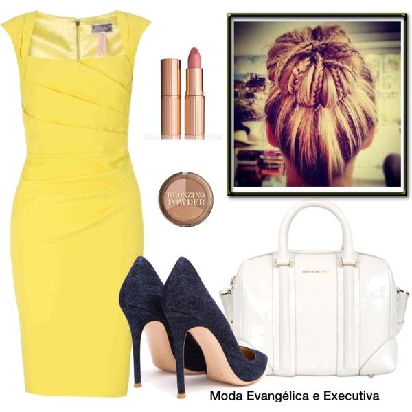 """Amarelo"" by gessilene-ferreira on Polyvore"