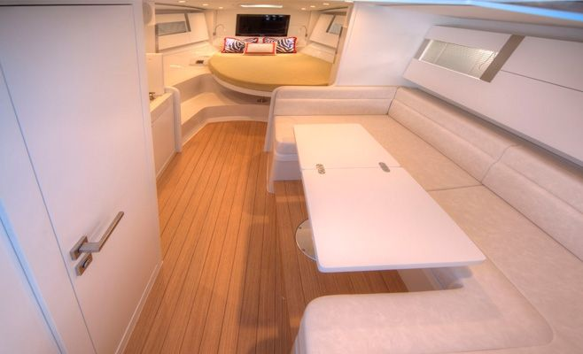 Tornado 38. A classic boat with a quiet but powerful engine. Great layout of indoor environments with dinette.  Web Site: www.amalfisails.com E-Mail: info@amalfisails.it