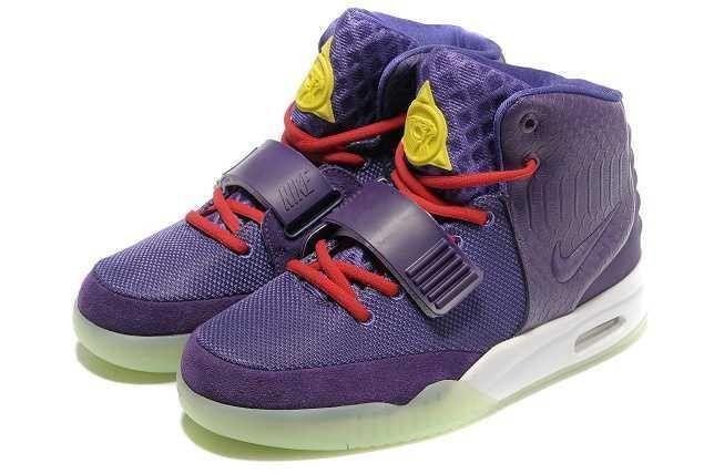 info pour 284aa b9d2b Acheter Chaussures de Tennis Homme Nike Air Yeezy 2 Glow The ...