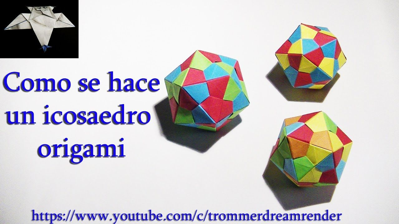 Como hacer un icosaedro origami how to make an origami icosahedron como hacer un icosaedro origami how to make an origami icosahedron jeuxipadfo Gallery