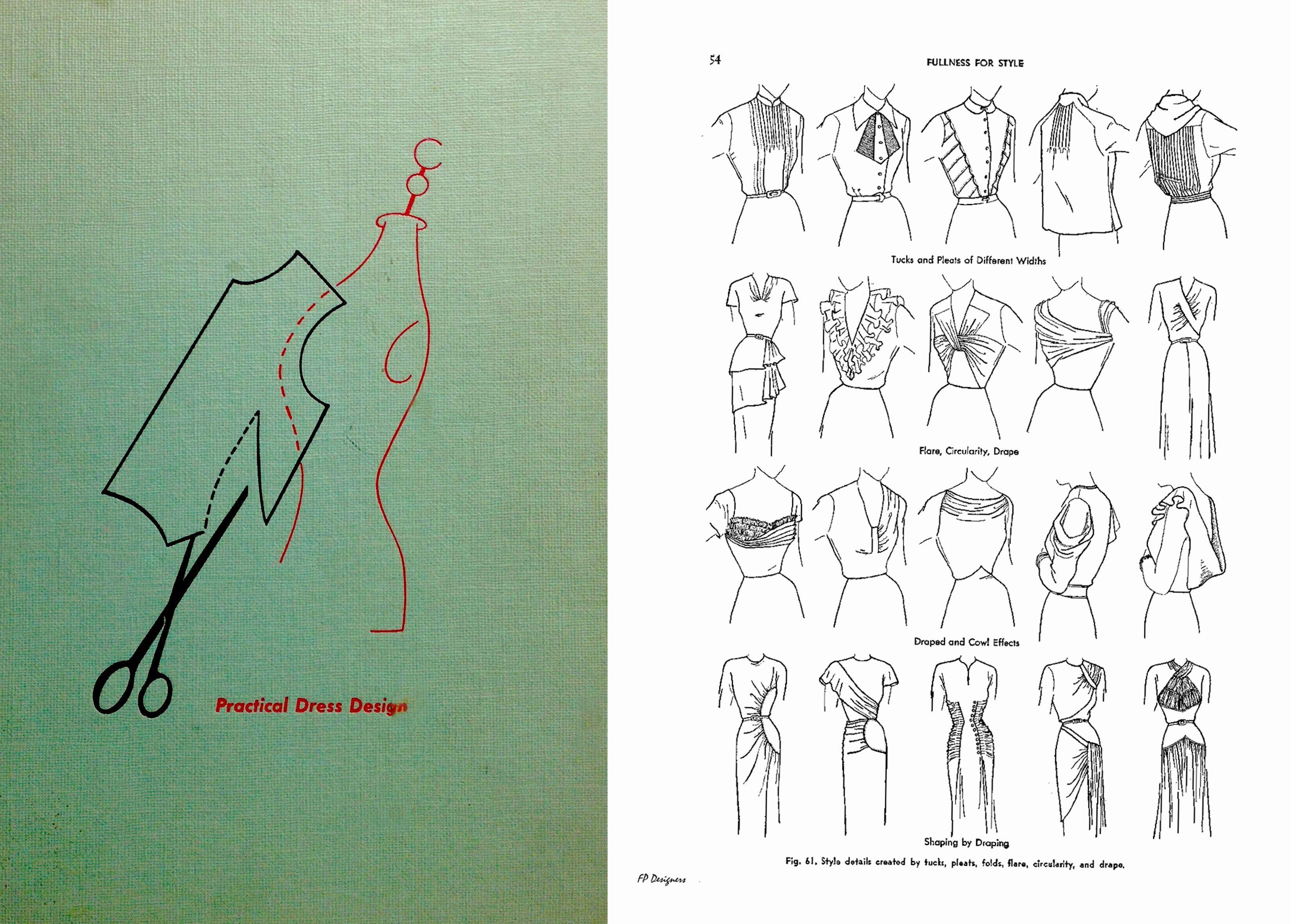 Fashion Design Drawing Book Pdf In 2020 Sewing Book