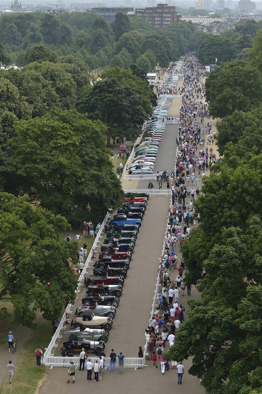 Aston Martin Centenary Celebration - Kensington Gardens
