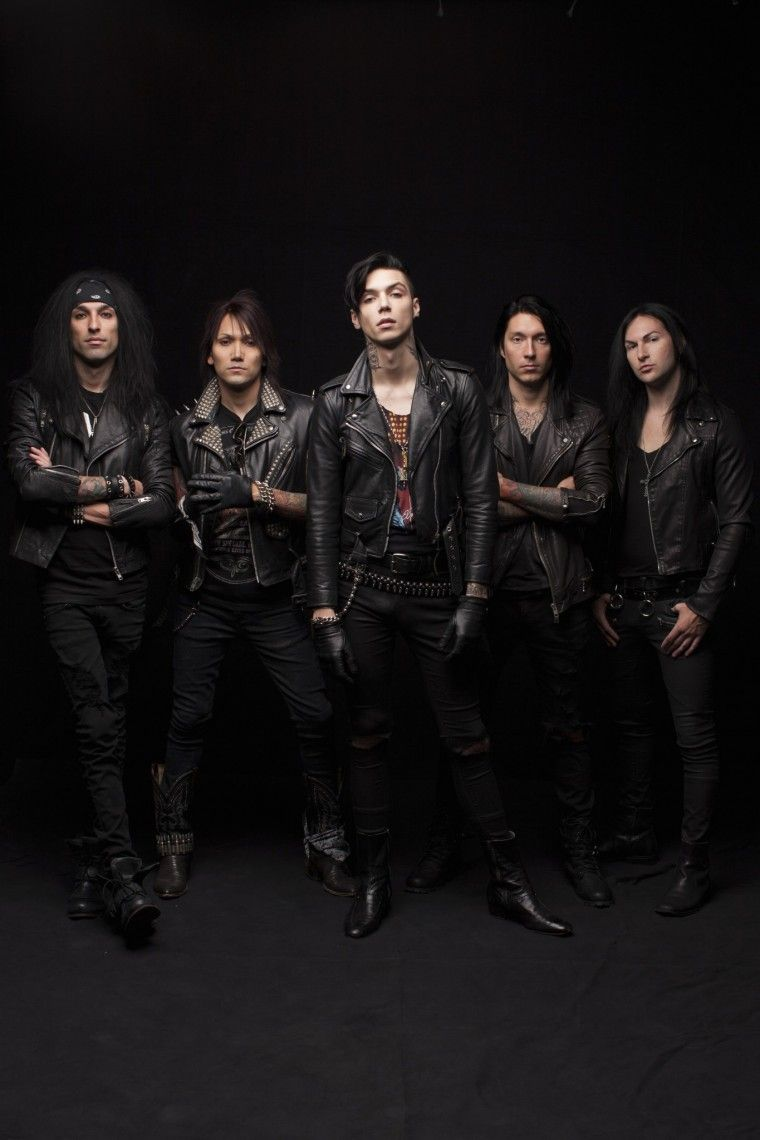 Black Veil Brides Wallpaper Google Search Bandas Andy