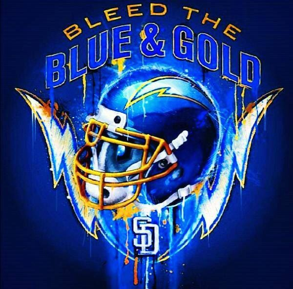 San Diego Chargers Football Scores: San Diego Chargers...Bleed The Blue & Gold!!!