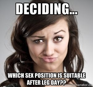 Create your own images with the legday - what position to use meme generator