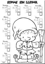 Resultado de imagen para dibujos con sumas y restas  actividades
