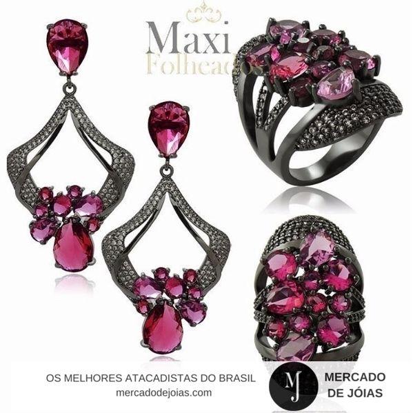 @maxifolheados Conjuntos Lindos como este só aqui www.mercadodejoias.com    #semijoias #acessorios #Jewel #amei #brincos #itgirl #moda #tendencias #jewelry #today #amomuito #saopaulo #estilo #glamour #folheados #bruto #bijouterias #bijoux #altabijoux