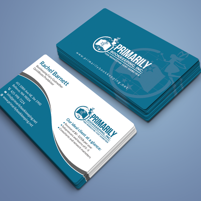 Winning Design By R4960 Business Cards Creative Business Card Design Accounting Firms