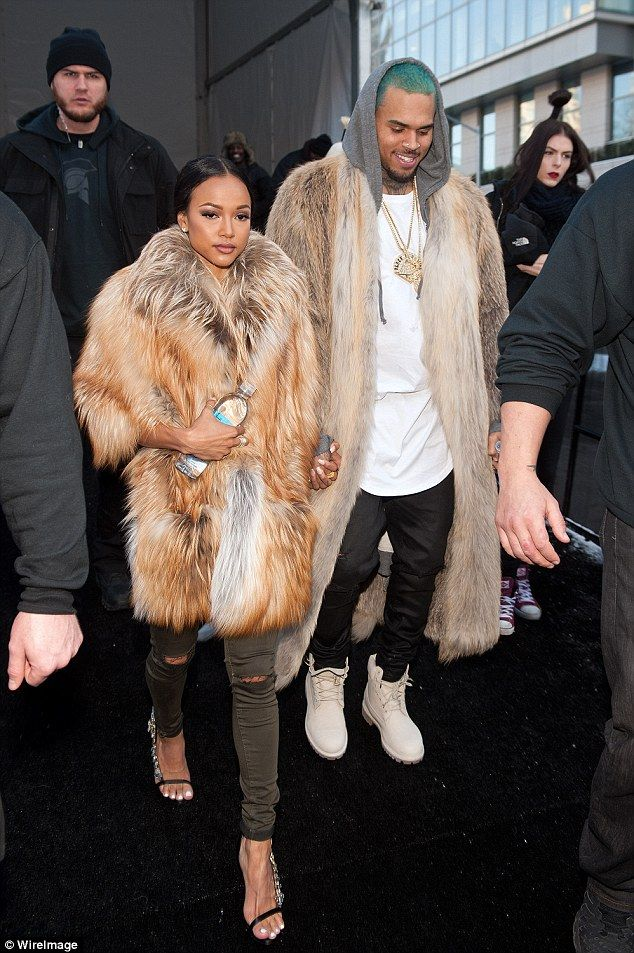 Lost love:It has been a year since Karrueche dumped Chris (pictured left) upon discoverin...