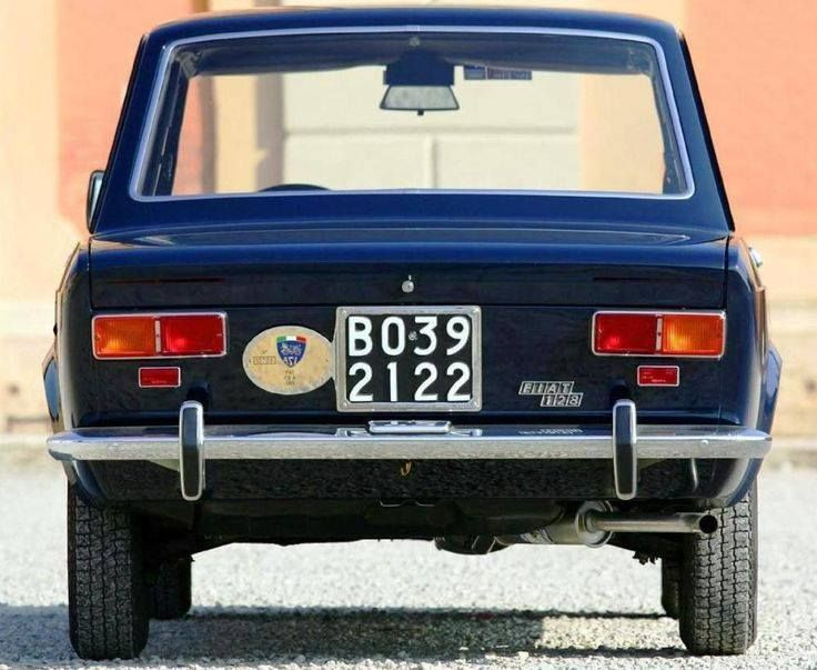 FIAT 128 1100  .. ours was white...