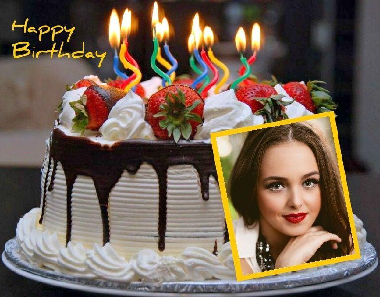 Marco de torta de Cumpleaños | Marcos para Fotos Gratis | cumpleaños ...