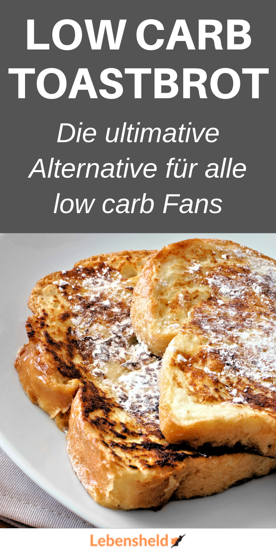 Pane tostato a basso contenuto di carboidrati – l'alternativa ideale a basso contenuto di carboidrati – eroe della vita