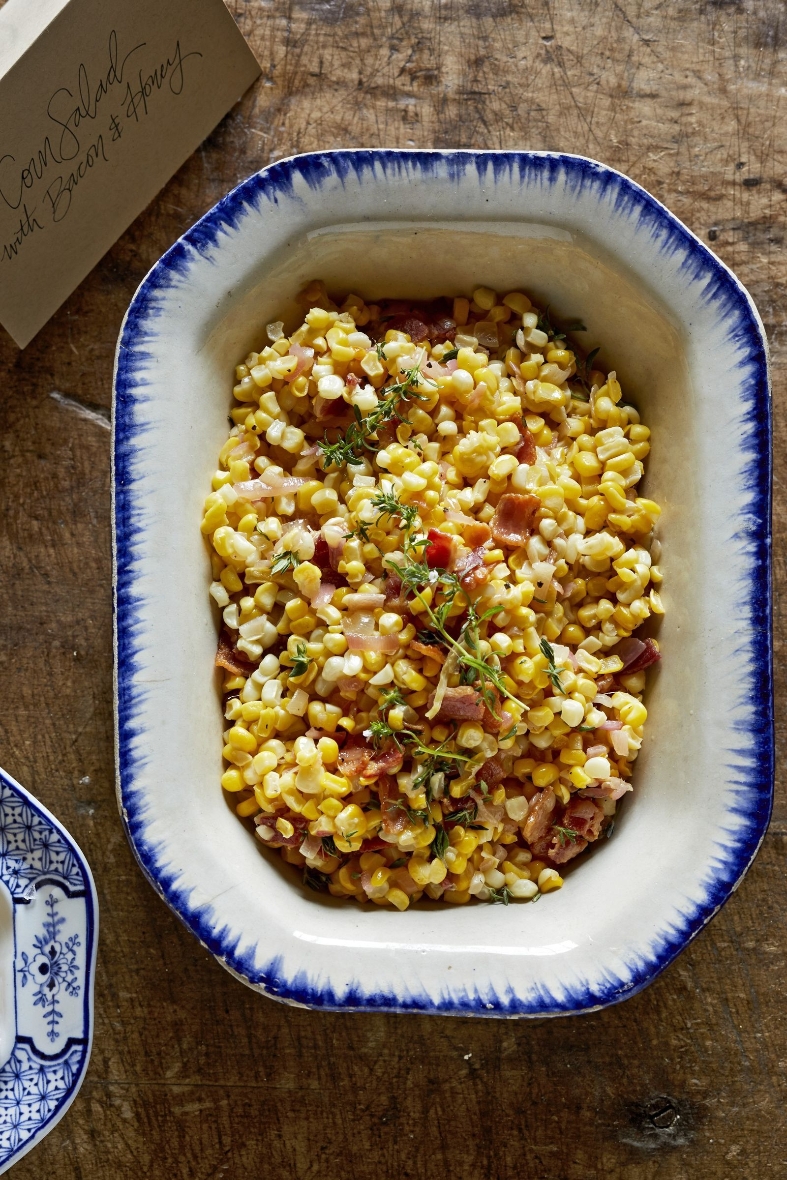 Corn Salad with Bacon and Honey