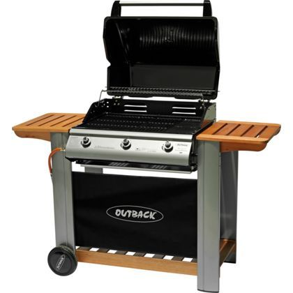 Outback Spectrum 3 Burner Gas BBQ at Homebase -- Be inspired and ...