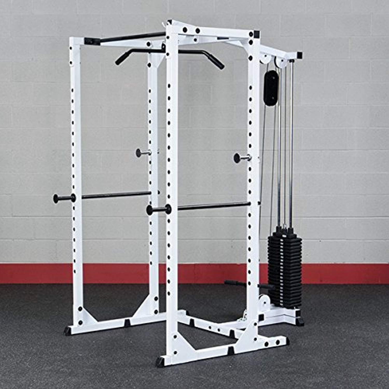 Body Solid Power Rack And Lat Package Wpr78p3 Want Additional