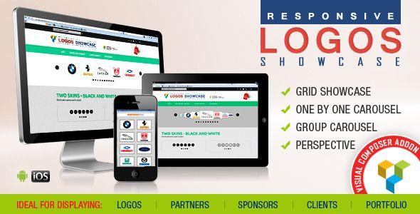 Visual Composer Addon Logos Showcase Pro v121 Blogger Template - visual composer templates