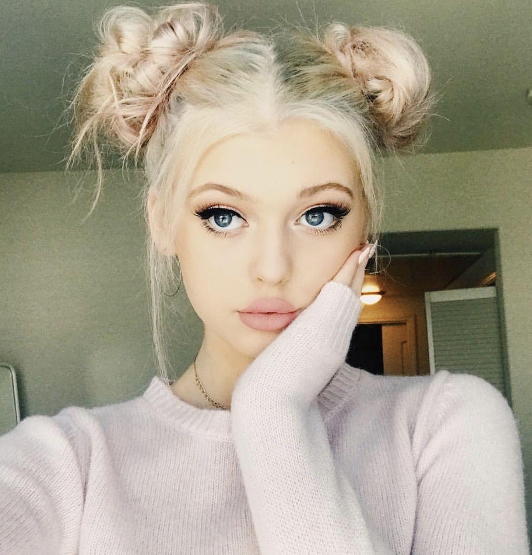 Loren Gray Beech Cute As Hell Pinterest Gray Hair Style And Makeup