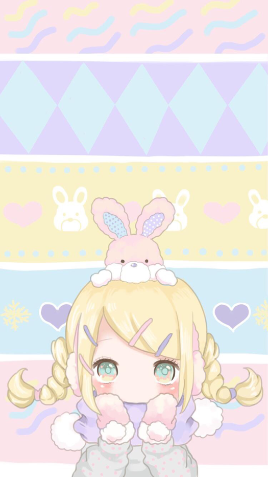 Pastel Anime Iphone Wallpaper
