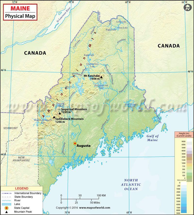 Physical Map of Maine | USA Maps | Map, Study materials, Maine on map of maine coast, map nashville usa, visit maine usa, map san antonio usa, map arkansas usa, map of maine rivers, map of maine towns, map cuba usa, map maine cities, map north dakota usa, new jersey, map houston usa, map ireland usa, map panama usa, new hampshire, map charlotte usa, map baltimore usa, map new hampshire usa, north carolina, map state usa, new york, rhode island, new england, map minneapolis usa, map russia usa, map virgin islands usa,