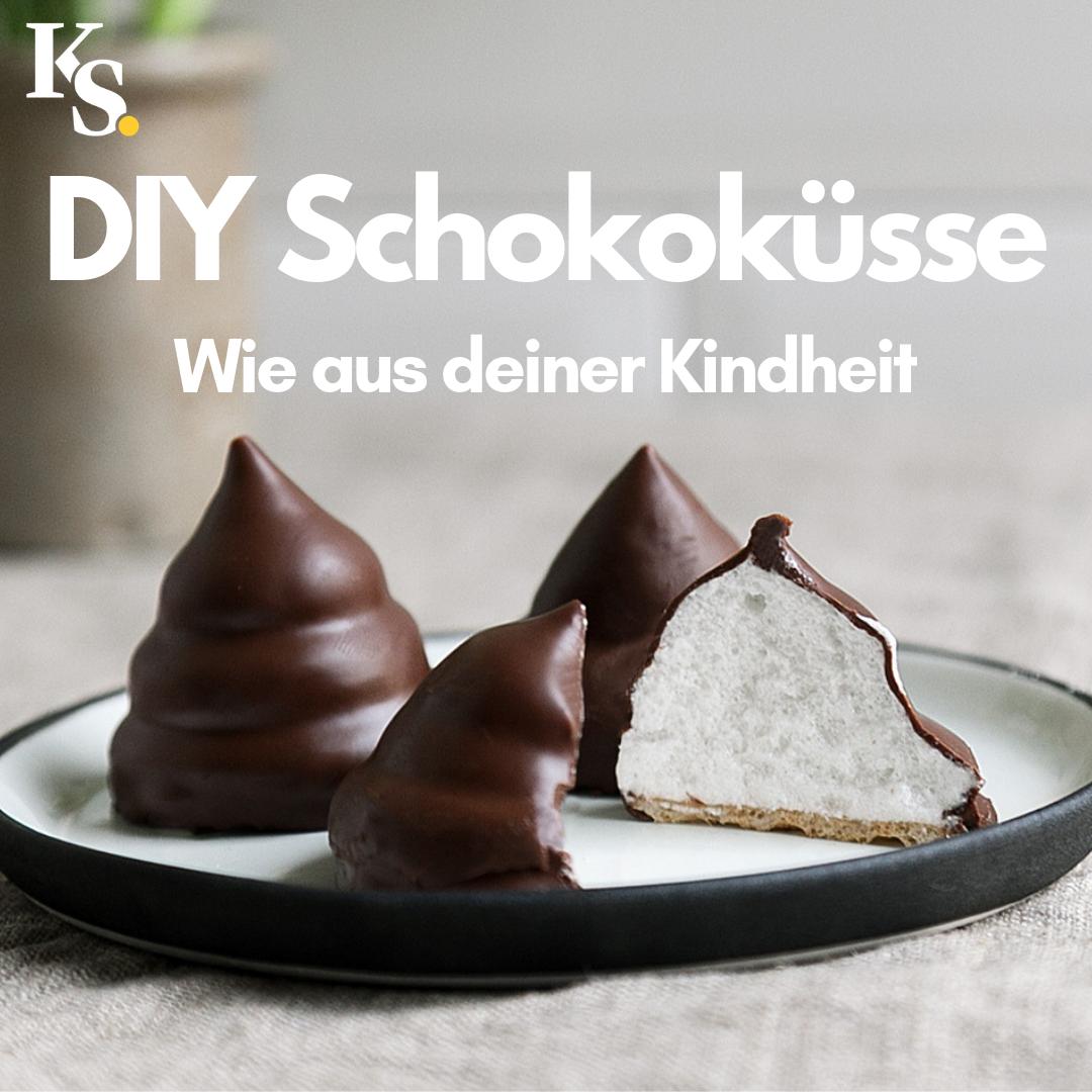 DIY Schokoküsse #schokoladeselbermachen