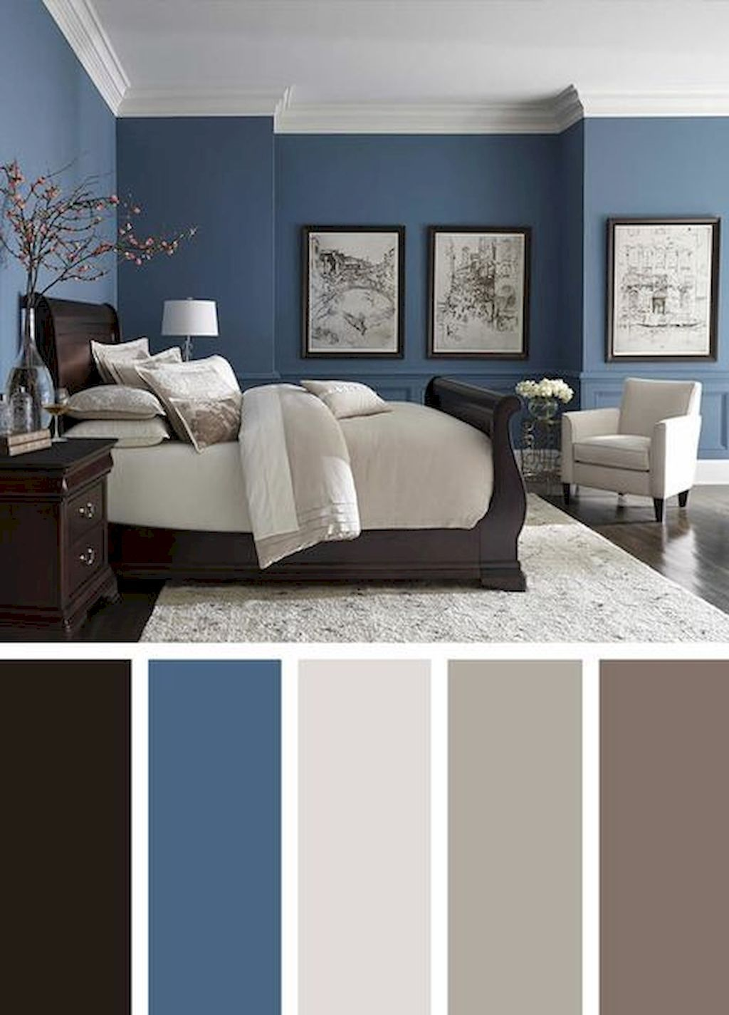 72 Simple Bedroom Decorating Ideas With Beautiful Color Best